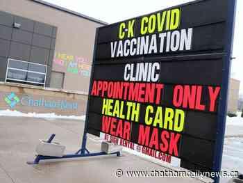 Pfizer vaccine shipment to Chatham-Kent delayed