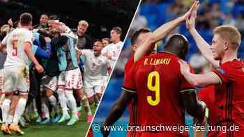 Belgien verhilft zum Happy End: Dänemark steht im Achtelfinale