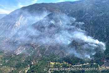BC drone sighting halts helicopters fighting 250 hectares of wildfire – Lake Cowichan Gazette - Lake Cowichan Gazette