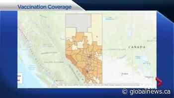 COVID-19 vaccination coverage inconsistent across Alberta