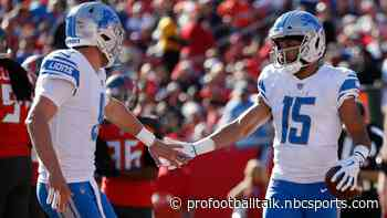 Golden Tate wouldn't mind playing with Matthew Stafford again - NBC Sports
