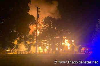 Church burns on Penticton Indian Band land - Golden Star