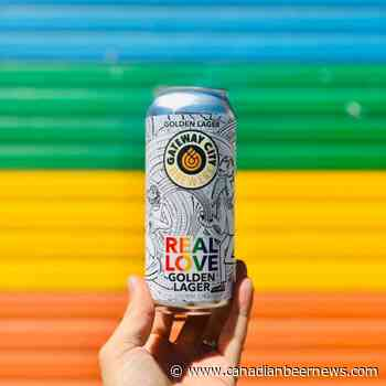 Gateway City Brewery and North Bay Pride Bring Back Real Love Golden Lager - Canadian Beer News