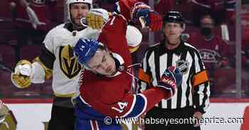 Canadiens vs. Golden Knights Top Six Minutes: Back to Vegas all tied up - Habs Eyes on the Prize