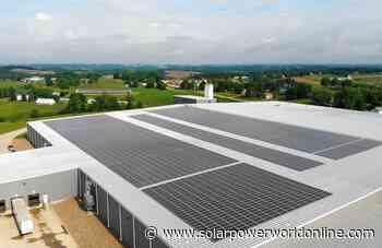 Paradise Energy Solutions completes 1.79-MW solar array at Ohio manufacturing facility - Solar Power World