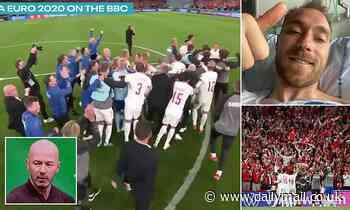 Alan Shearer hails 'amazing scenes' as Denmark celebrate qualifying for the Euro 2020 last 16