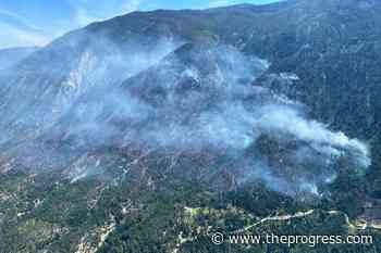 Blaze near Lytton spread across steep terrain, says BC Wildfire Service – Chilliwack Progress - Chilliwack Progress