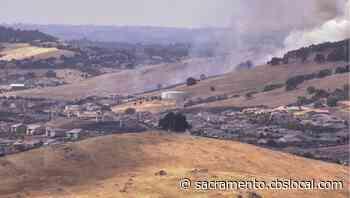 Forward Progress Stopped On Fire In El Dorado Hills