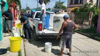 Apagones dejan sin agua a habitantes de la Isla de San Isidro, Campeche - Por Esto