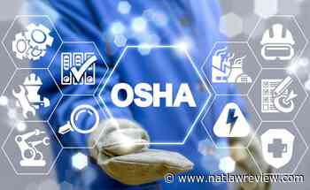 OSHA Issues First Coronavirus Emergency Temporary Standard - The National Law Review