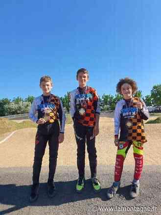 Trois benjamins du Lempdes BMX trustent le podium des départementaux - La Montagne