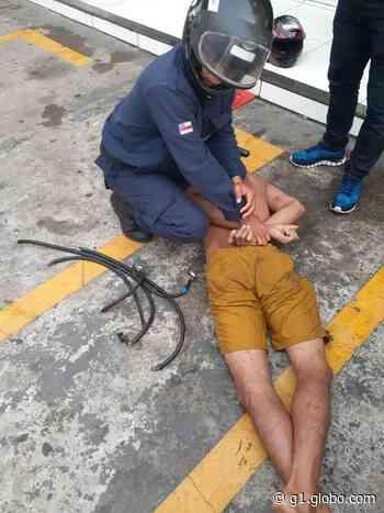 Homem é preso por furto de fios elétricos em Coari - G1