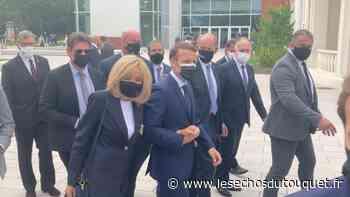 Le Touquet : Emmanuel et Brigitte Macron ont voté au Palais des Congrès - Les Echos du Touquet