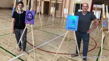 Soziale Stadt : So macht ein Künstler Menschen aus Hegermühle in Strausberg sichtbar - moz.de
