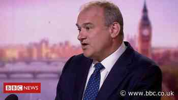 Ed Davey: Lib-Dem win a threat to Tories