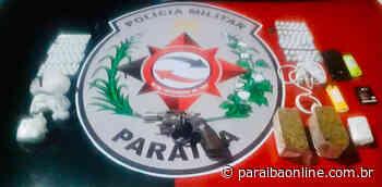 Polícia prende suspeitos por porte ilegal de arma de fogo em Guarabira • Paraíba Online - Paraíba Online