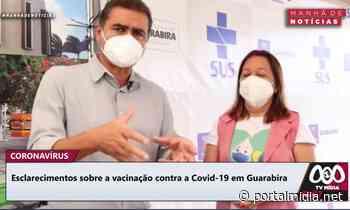 Prefeitura de Guarabira esclarece detalhes acerca das etapas de vacinação contra a Covid-19. - PortalMidia