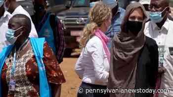 Angelina Jolie visits Burkina Faso as UN Special Envoy – NBC10 Philadelphia - Pennsylvanianewstoday.com