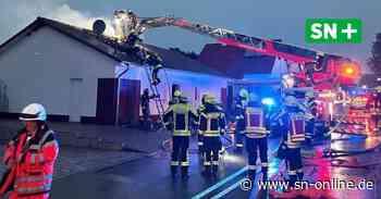 Hessisch Oldendorf: Blitz schlägt in Wohnhaus ein - Schaumburger Nachrichten