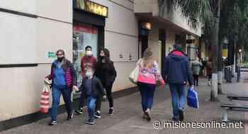 Mucho movimiento en el centro de Posadas en la víspera del Día del Padre - Misiones OnLine