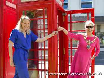 New lease of life for iconic red telephone box in Leamington town centre - Leamington Courier