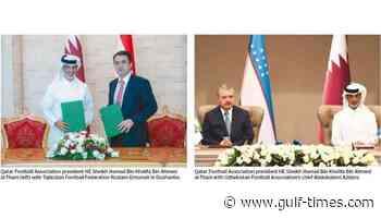 Qatar and Tajikistan football associations sign co-operation agreement READ MORE - Gulf Times