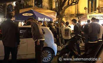Allarme Movida a Salerno: spari in via Roma, chiusi 2 locali per violazioni anti Covid - Salernonotizie.it