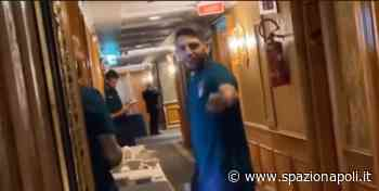 IL VIDEO - Berardi e Donnarumma chiusi fuori: Jorginho se la ride - Spazio Napoli