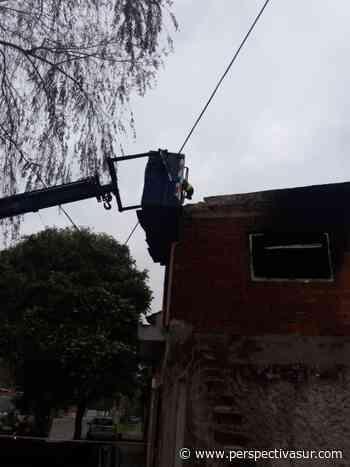 Quilmes: Otra participación de los bomberos en esta fría mañana - Perspectiva Sur