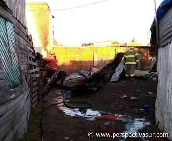 Madrugada de incendios en Quilmes sin heridos pero con pérdidas totales - Perspectiva Sur