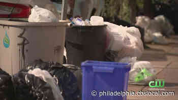 6 Day Workweeks And Poked By Needles: YaFavTrashman Fighting For Philadelphia Sanitation Workers' Safety - CBS Philly
