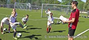 Fußballcamp war trotz Corona eine runde Sache - Maulburg - Badische Zeitung - Badische Zeitung