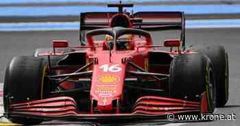 Autos gingen leer aus - Sechsmal Null: Debakel für Ferrari in Frankreich - Krone.at