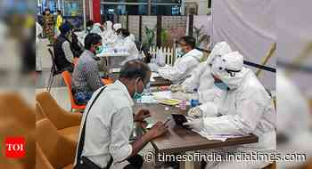 Coronavirus live updates: Daily cases drop below 50,000 after 91 days - Times of India
