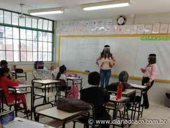 Escolas estaduais em Coronel Fabriciano e Timóteo retomam aulas presenciais | Portal Diário do Aço - Jornal Diário do Aço