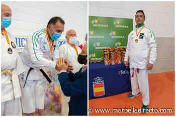 Iñaki Pozueta y Adolfo Reque, campeones de karate de España de veteranos en sus categorías - Marbella Directo