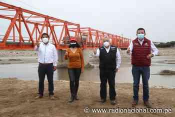 Ponen en servicio rehabilitado puente Reque   Nacional - Radio Nacional del Perú