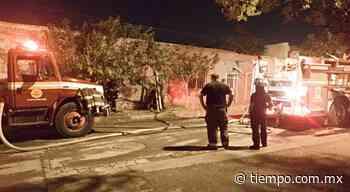 Fuego consume vivienda en Santa Rosa   Tiempo - El Tiempo de México