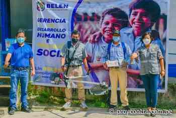 MUNICIPALIDAD DE BELÉN APOYA A LA COMUNIDAD DE SANTA ROSA – RÍO AMAZÓNAS - Pro y Contra