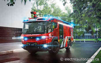 City of Brampton orders electric fire truck, in Ontario first - Electric Autonomy