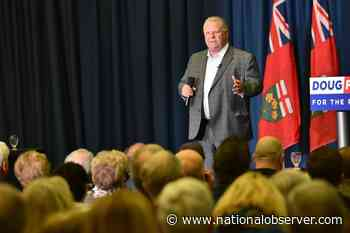 Ontario Premier Doug Ford, the charter and what's at stake - National Observer