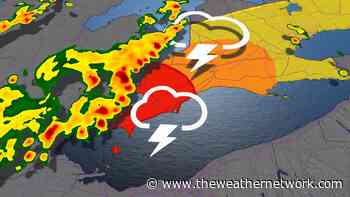 Severe storm risk, abundant lightning for some in southern Ontario - The Weather Network US