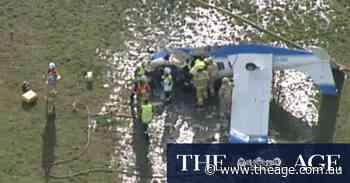Light plane crashes in Heatherton