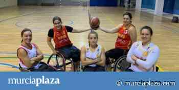 Sonia Ruiz, Beatriz Zudaire, Lourdes Ortega, Isabel de Jesús y Victoria Alonso, en los Paralímpicos - Murcia Plaza