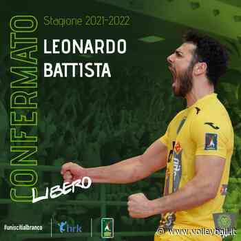 A2, Motta di Livenza: Confermato il libero Battista - Volleyball.it