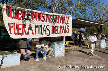 Realizan toma simbólica de mina a cielo abierto en Actopan; «sí a la vida, no a la mina», increpan - Libertadbajopalabra.com