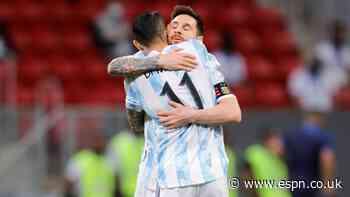 Argentina beats Paraguay as Messi equals record