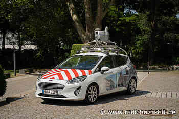 Kamerawagen fahren durch Salzkotten - Radio Hochstift