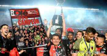 Imperdible: salió de nuevo la revista de Colón campeón - Olé
