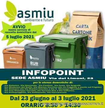 Un Infopoint presso ASMIU in Via dei Limoni - La Gazzetta di Massa e Carrara